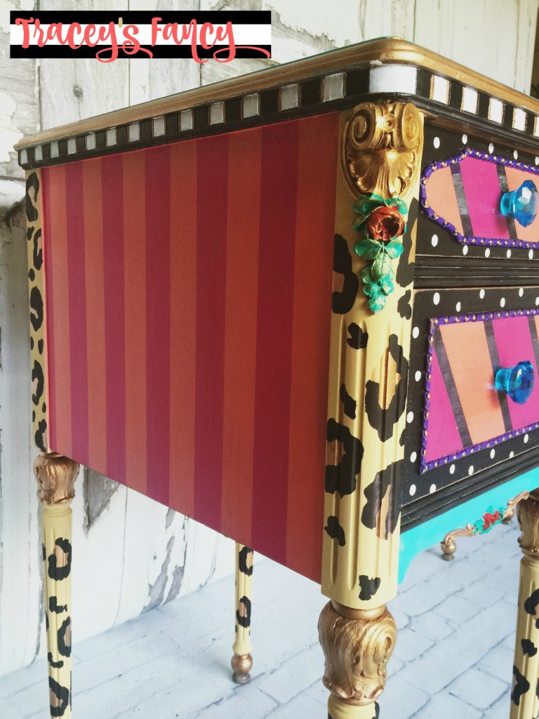Hello Gorgeous Painted Vanity by Tracey's Fancy