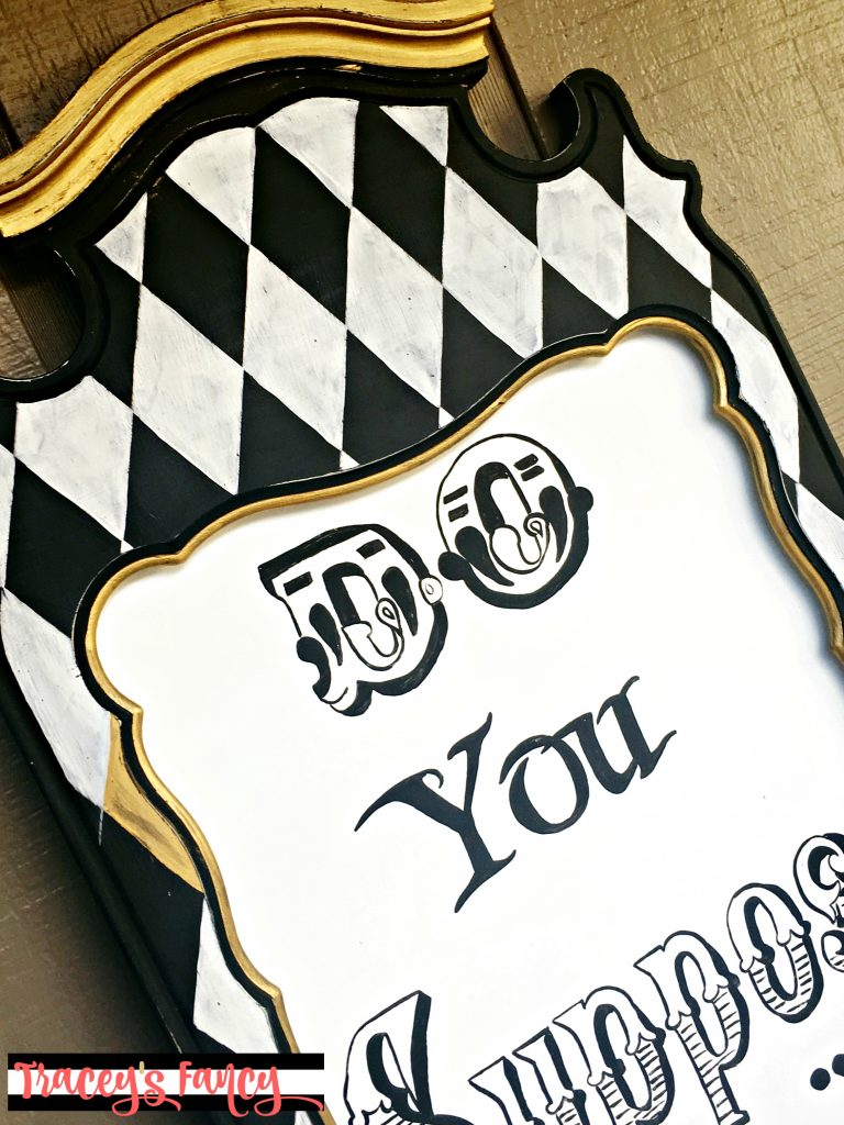 Mad Hatter Signs by Tracey's Fancy