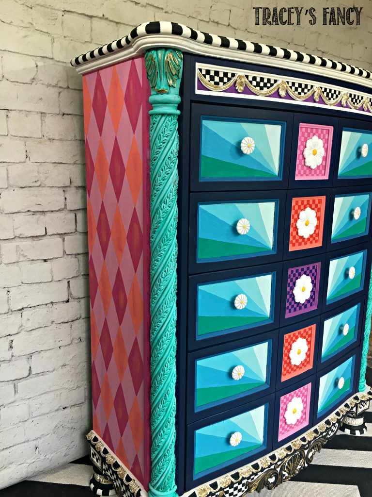 How to Decorate with a Feature Furniture Piece by Tracey's Fancy