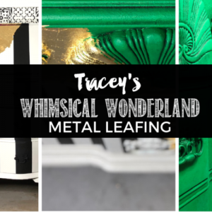 Tracey's Fancy Gold Metal Leafing Tutorial