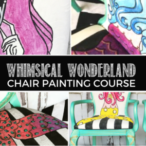 Tracey's Fancy Chair Painting Course