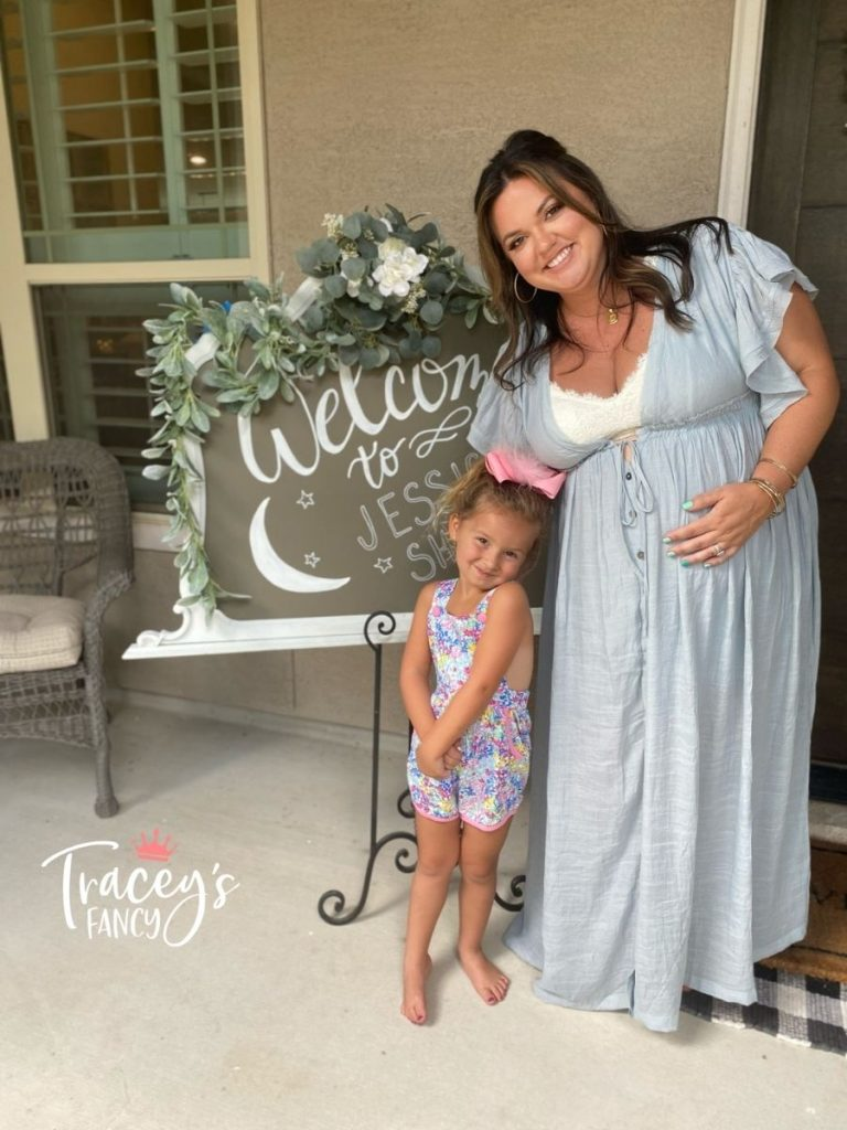 Baby Shower Sign by Tracey's Fancy