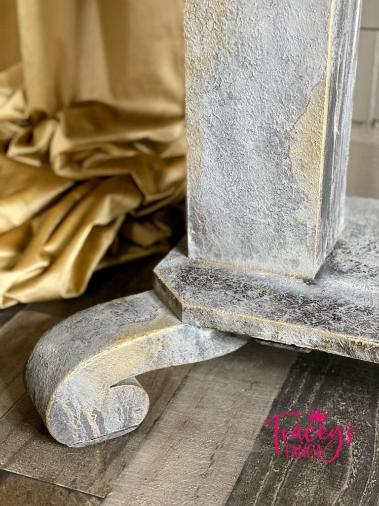 Faux Stone Table by Tracey's Fancy 0