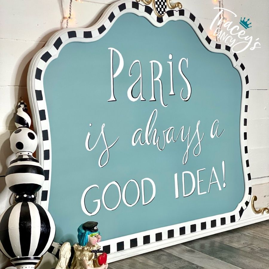 Paris Sign by Tracey's Fancy